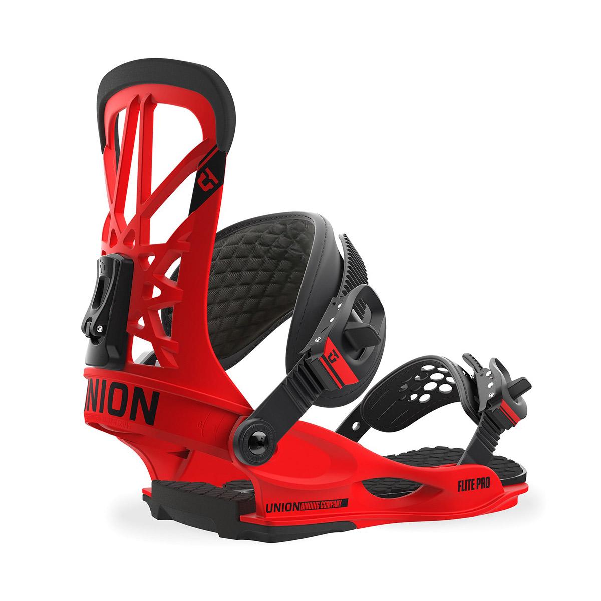 Крепления для сноуборда UNION Flite Pro Red 2018