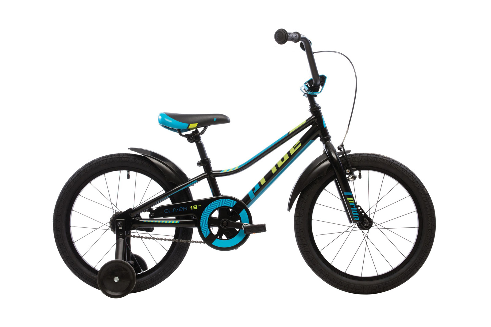 Велосипед PRIDE Oliver Black/Blue