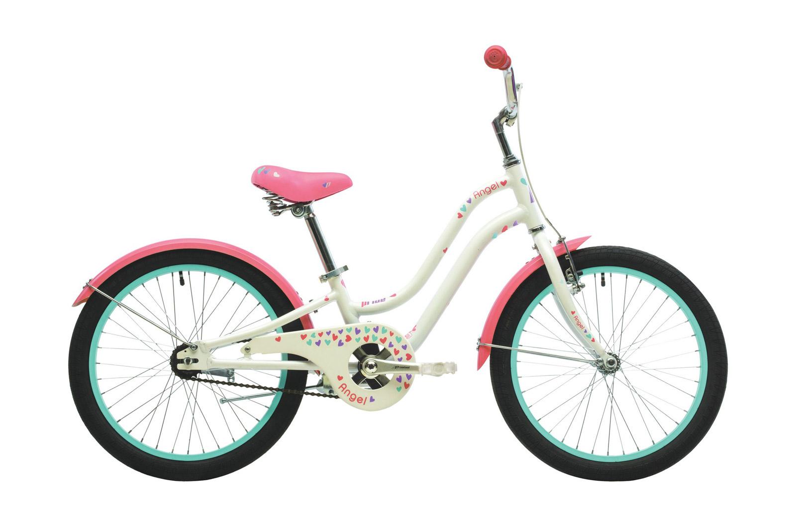 Велосипед PRIDE Angel White/Pink