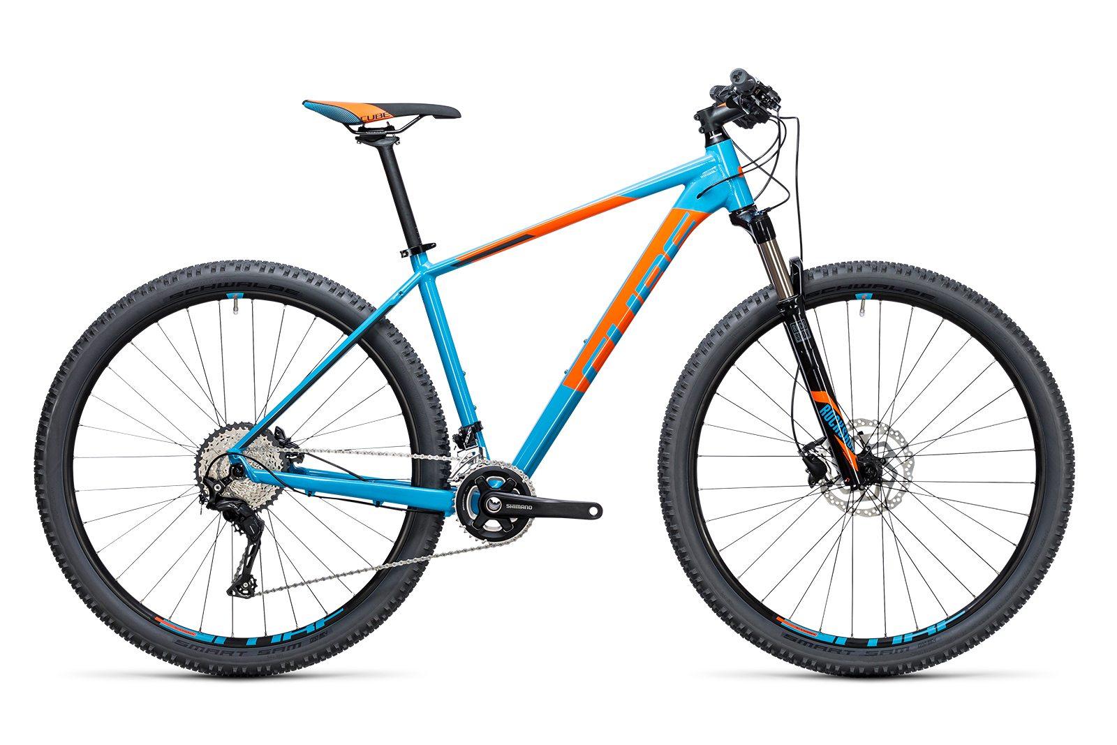 Велосипед CUBE Acid 2X Blue/Flashorange