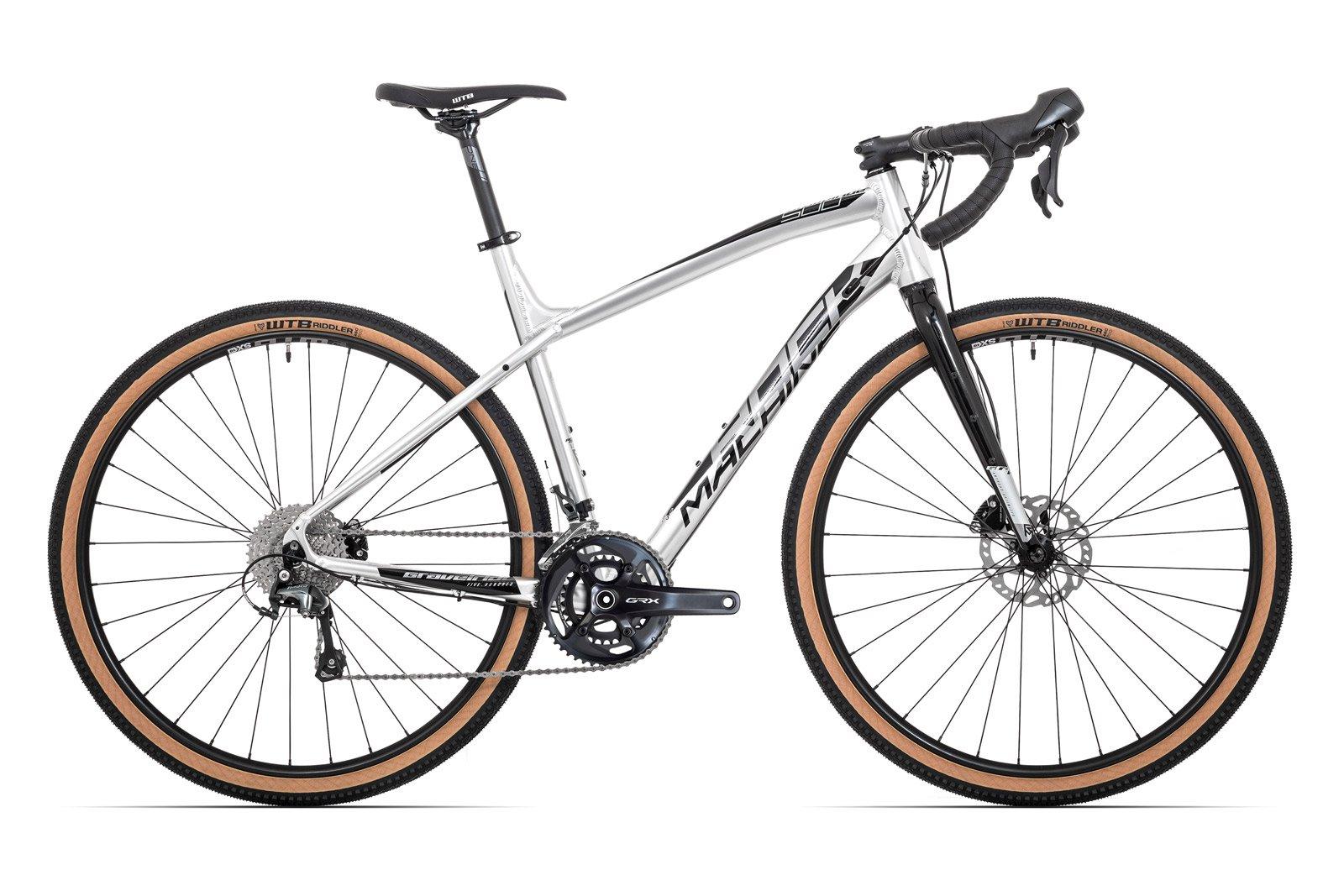 Велосипед Rock Machine Gravelride 500 Gloss Silver/Black