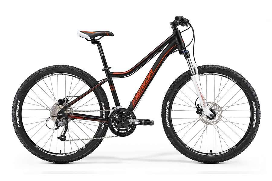 Велосипед MERIDA Juliet 6.40-V Matt Black Red