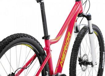 Велосипед MERIDA Juliet 7.40-D Raspberry/Lime