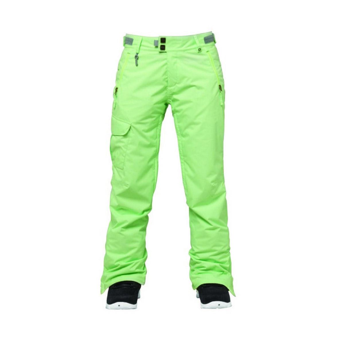 Штаны сноубордические 686 Misty Chartreuse 2016