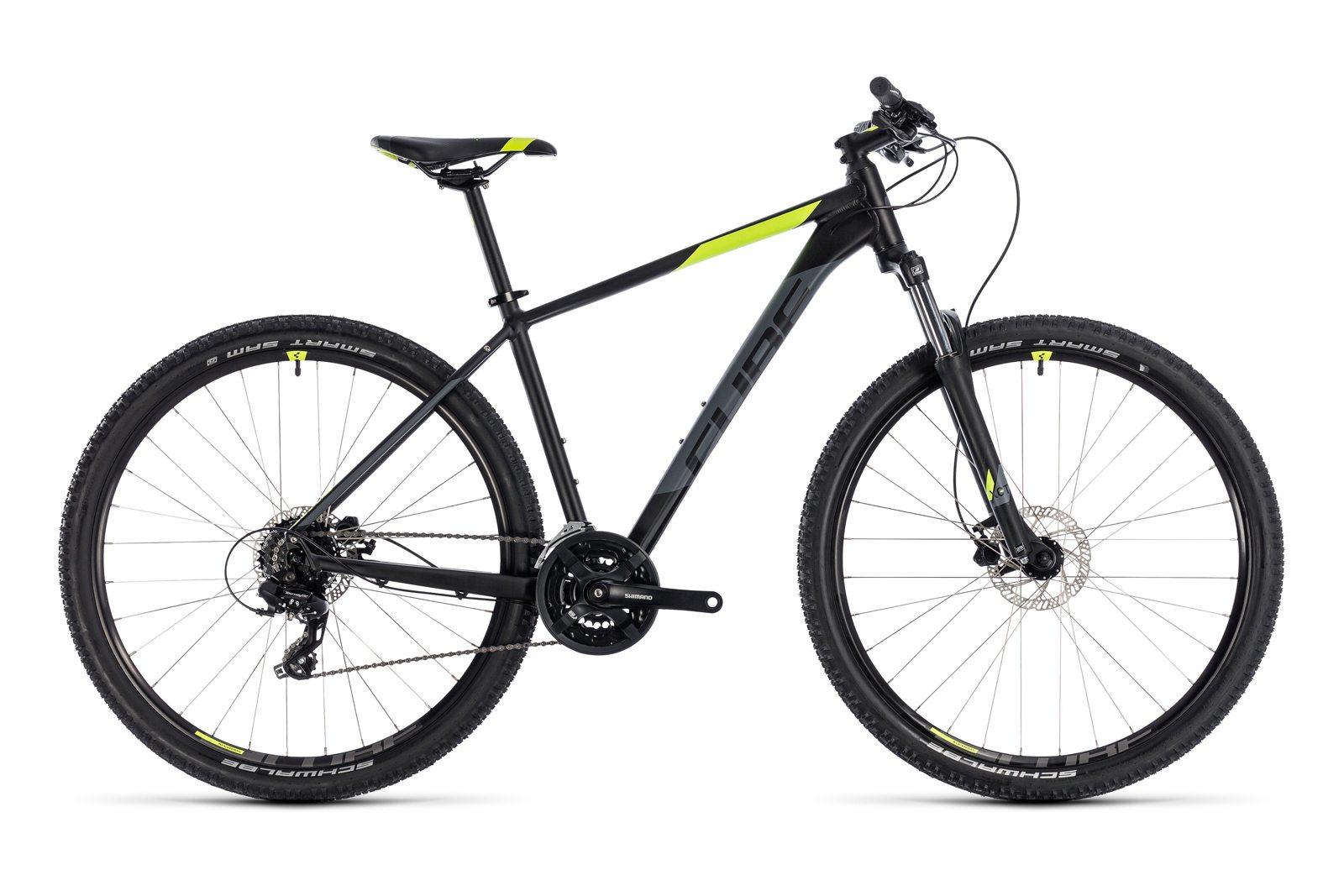 Велосипед CUBE Aim Pro Black Flashyellow