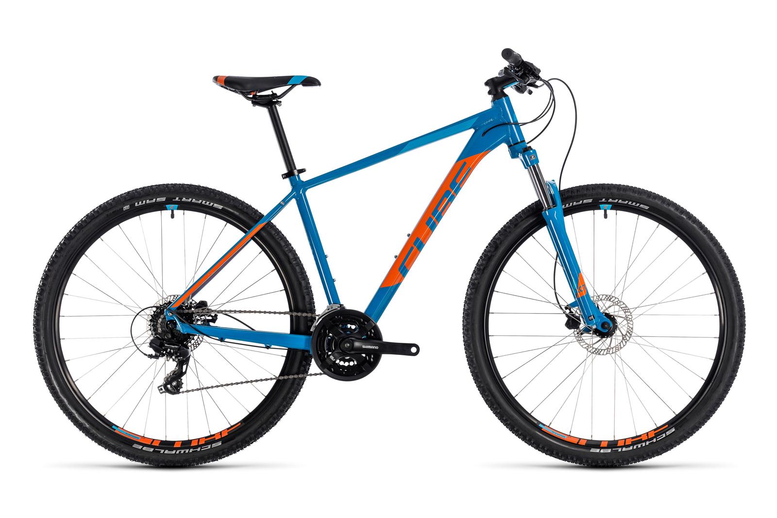 Велосипед CUBE Aim Pro Blue/Orange