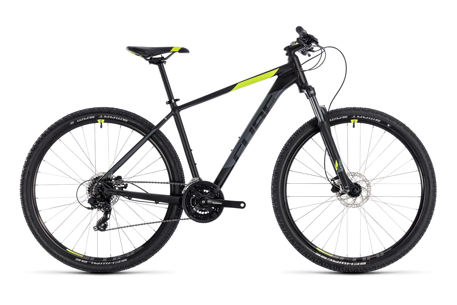 Велосипед CUBE Aim Pro 27.5 Black Flashyellow
