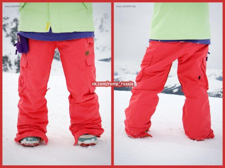 Штаны сноубордические ROMP 180˚ Switch Indian Red
