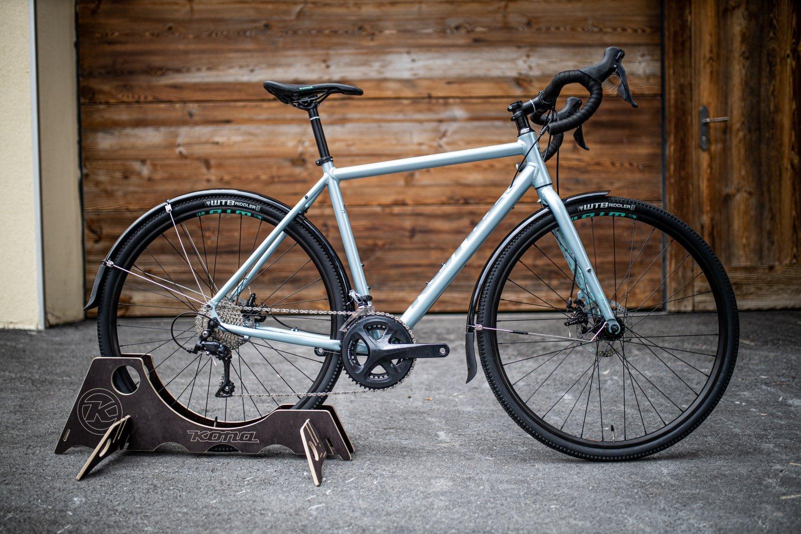Велосипед Kona Rove DL Silver