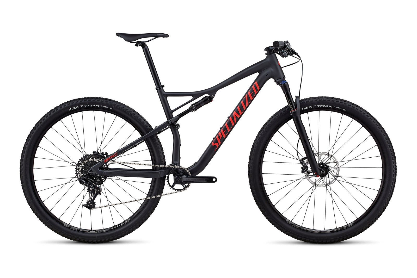 Велосипед Specialized Epic Comp Satin Slate Nordic Red
