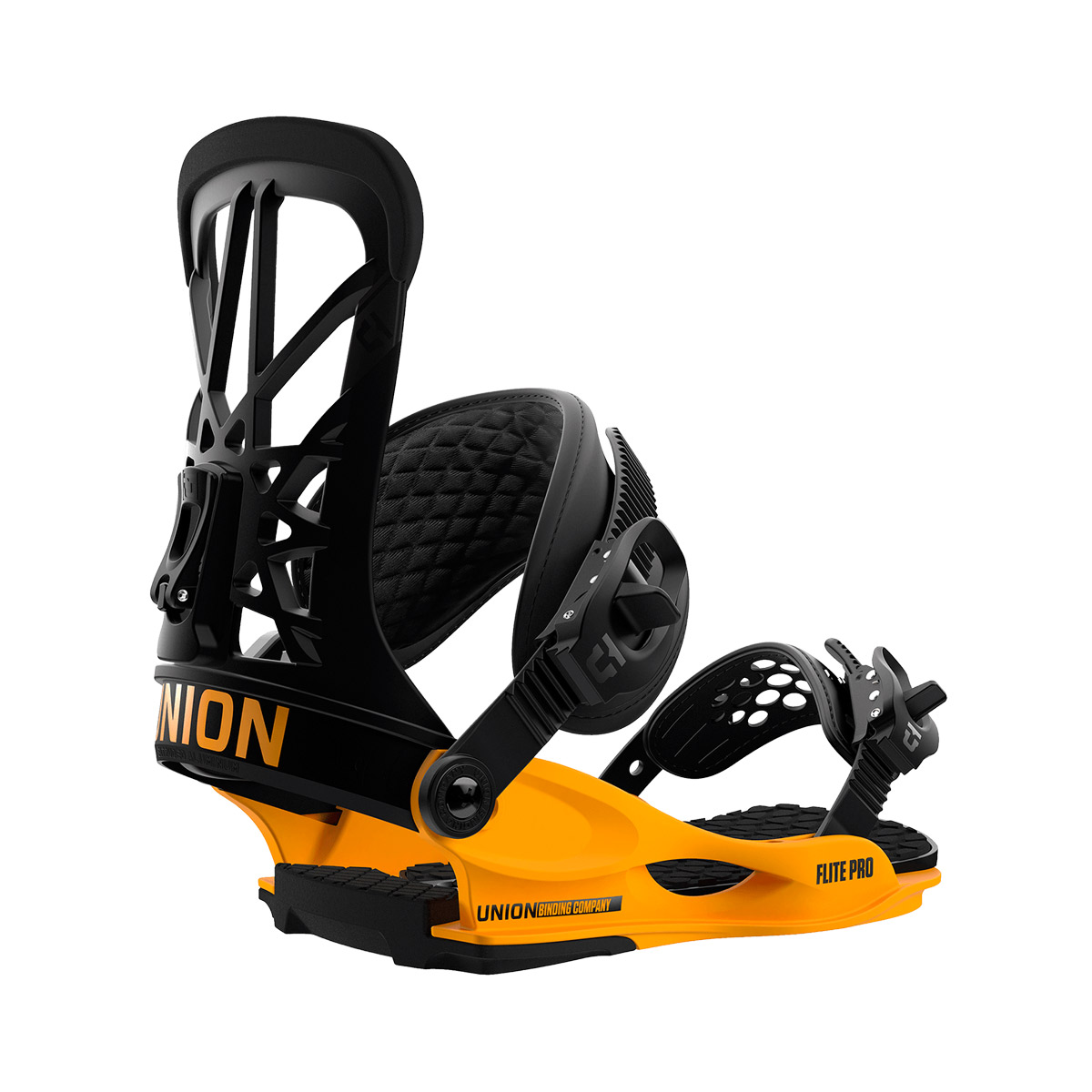 Крепления UNION Flite Pro Black/Yellow 2019